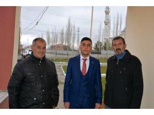 Türkiye'nin en genç muhtarlarından birisi oldu