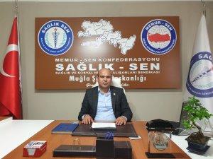 Sağlık-Sen Şube Başkanı Özcan Çiçek İzmir'deki saldırıyı kınadı