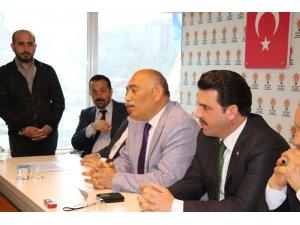 AK Parti Kdz Ereğli de seçim sonuçlarını değerlendirdi
