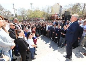 Personelden Başkan Zolan'a sürpriz karşılama