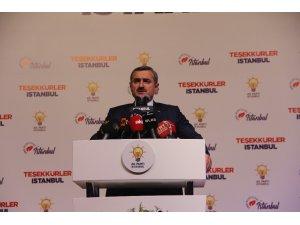 """AK Parti İstanbul İl Başkanı Bayram Şenocak: """"39 ilçe seçim kurullarına itirazlarımızı teslim ettik"""""""