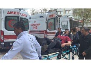 Kahta'da kaza: 1 yaralı