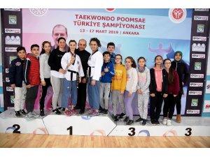 Taekwondoculardan büyük başarı