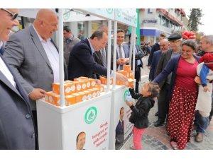 Edirne'de 10 bin adet kandil simidi ikramı