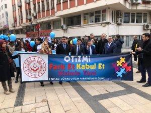 Fatsa'da '2 Nisan Dünya Otizm Farkındalık Günü' yürüyüşü