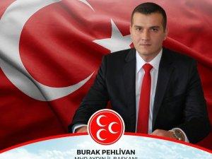 """MHP İl Başkanı Pehlivan, """"Hemşehrilerimiz demokratik olgunluğunu gösterdi"""""""