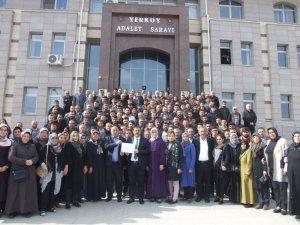 Hasan Hakanoğlu mazbatasını aldı