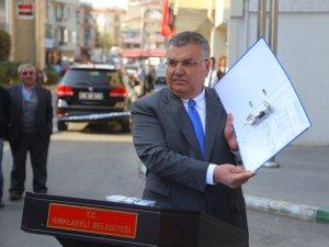 Kesimoğlu'ndan itiraza karşı açıklama