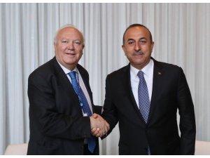 Dışişleri Bakanı Çavuşoğlu, Medeniyetler İttifakı Yüksek Temsilcisi Moratinos'la görüştü
