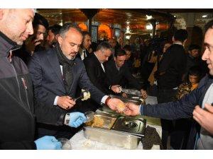 Bursa'da kandil coşkusu