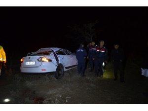 Konya'da otomobil takla attı: 1 ölü, 4 yaralı