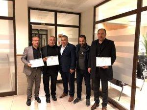 MHP'li Belediye Başkanları mazbatalarını aldı