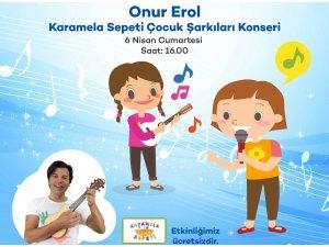 Onur Erol, Forum Magnesia'da çocuklara özel konser verecek