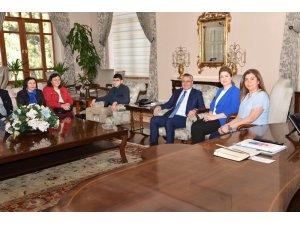Vali Ahmet Deniz ve Eşi Olcay Deniz otizmli çocukları ağırladı