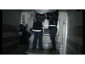 Kuzey Irak'tan gelen tırdan 79 kilo eroin çıktı