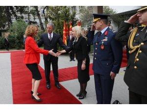 Milli Savunma Bakanı Akar, Kuzey Makedonyalı mevkidaşı ile görüştü
