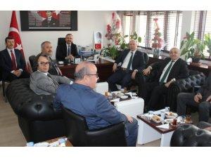 Çaycuma'da İlçe Milli Müdürleri toplantısı yapıldı