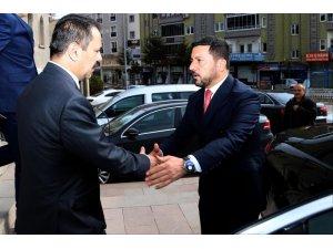 Vali İlhami Aktaş, Başkan Arı'yı tebrik etti