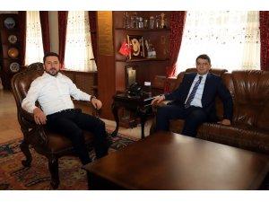 Cumhuriyet Başsavcısı Şahin, Başkan Arı'ya başarılar diledi