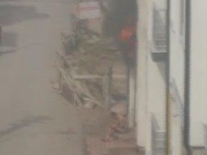 Konut yangınındaki esrarengiz kişinin 10 ayrı suçtan arandığı anlaşıldı