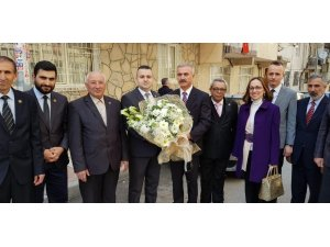 Kaymakam Erdoğdu'dan şehit aileleri ve gazilere ziyaret