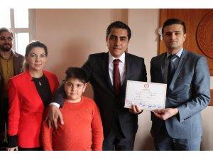 AK Parti Gülşehir Belediye Başkanı Çiftçi, görevine dualarla başladı