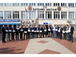 Bayramiç Belediye Başkanlığında devir teslim