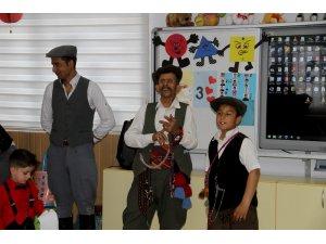 Muğla'da anaokulu öğrencilerine Yörük kültürü tanıtıldı