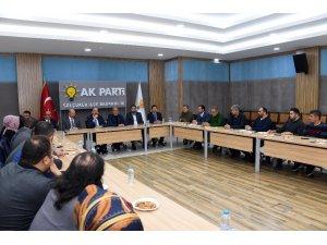 Başkan Altay'dan AK Parti Teşkilatlarına teşekkür ziyareti