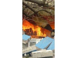 Kırıkkale'de ev yangını: 1 ölü
