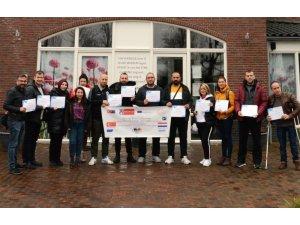 Özel eğitim ve uygulama öğretmenleri Hollanda'da kursa katıldı