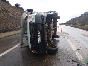 Kahramanmaraş'ta sağanak yağış kazaları beraberinde getirdi