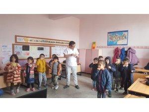 Hisarcık'ta öğrencilere ağız diş sağlığı eğitimi
