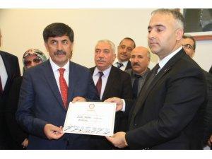 Erzincan'da MHP'li Başkan Bekir Aksun dönemi başladı