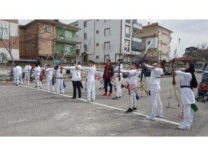 Karaman'da okullararası okçuluk müsabakaları sona erdi