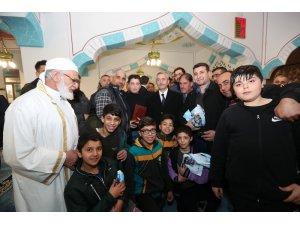 Başkan Tahmazoğlu, Miraç Kandilini vatandaşlarla birlikte idrak etti