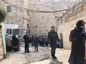 Hz. İbrahim Camii'ne ziyaretçi akını