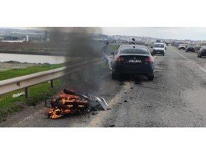 Batman'da motosiklet ile otomobil çarpıştı: 1 ölü, 1 yaralı
