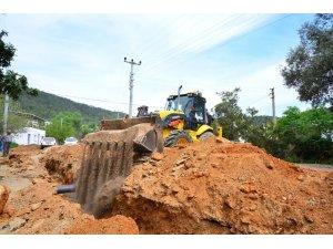 Büyükşehirden Bodrum'un alt yapı sorunu İçin 57 proje