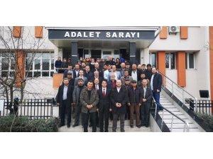 Dodurga Belde Belediye Başkanı Selim Tuna mazbatasını alarak göreve başladı
