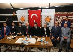 AK Parti'den Tanış'a tebrik ziyareti