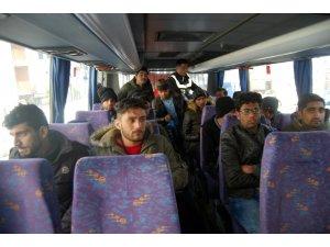 Tekirdağ'da 15 mülteci yakalandı