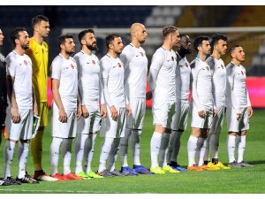 Ziraat Türkiye Kupası: Ümraniyespor: 0 - Akhisarspor: 0 (İlk yarı)
