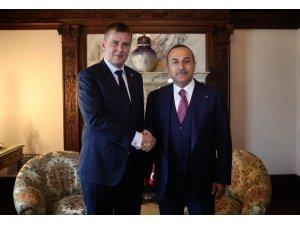 Bakan Çavuşoğlu, Çekya Dışişleri Bakanı Petricek ile görüştü