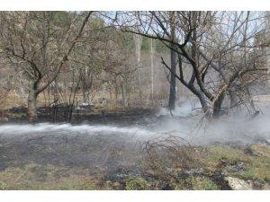 Tarla temizliğinde ateş yakmak orman yangınlarına neden oluyor