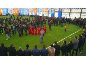 AK Parti'nin Kato Dağı eteklerindeki zafer mitingine yoğun ilgi
