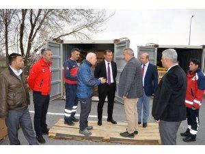 Kayseri'ye Tahsis Edilen Personel Barınma Çadırları Acil Durumlar İçin Hazır