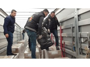 Tekirdağ'da bavul bavul uyuşturucu ele geçirildi: Tam 131 kilo