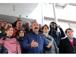 Komünist Başkan Maçoğlu'nun mazbatası yarına kaldı