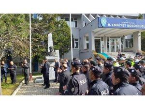 Tekirdağ'da Türk Polis Teşkilatı'nın 174. kuruluş yıldönümü kutlandı